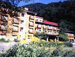 上高地温泉ホテルの外観