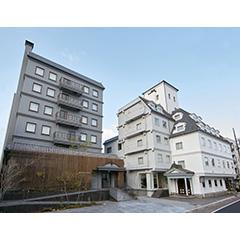 松本ホテル花月の外観