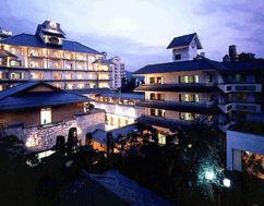 ホテル鷺乃湯の外観