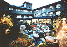湯元ホテル阿智川の外観