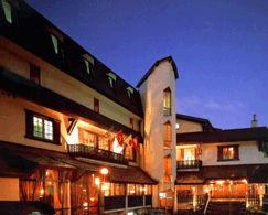ホテル後楽荘の外観