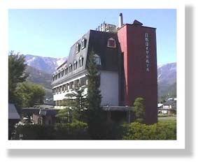 白馬ロイヤルホテルの外観