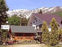 白馬ペンション&ログホテル ミーティアの外観