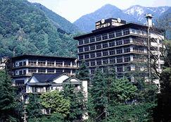 宇奈月グランドホテルの外観