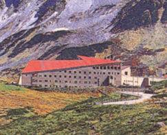 ホテル立山の外観