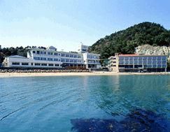 海のホテルひろせの外観