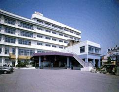 グランドホテル山海館の外観