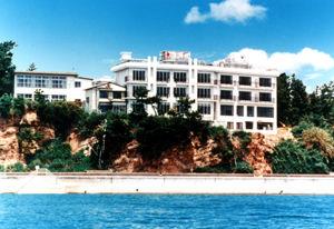 サンホテル大陽荘の外観