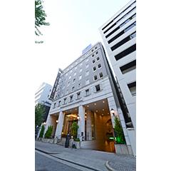 ホテルトラスティ名古屋栄の外観