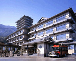 下呂観光ホテルの外観