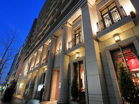 ホテルモントレ京都の外観