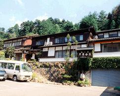 大原温泉 湯元のお宿 民宿大原山荘の外観