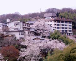 信貴山観光ホテルの外観