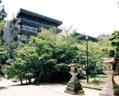 多武峰観光ホテルの外観