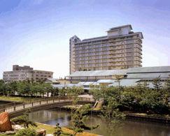 ホテル花水木の外観