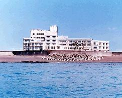 シーサイドホテル鯨望荘の外観