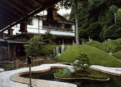高野山温泉 福智院の外観