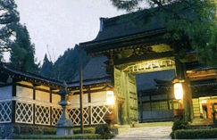 蓮華定院の外観
