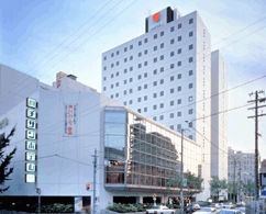 ホテルマイステイズ新大阪コンファレンスセンターの外観