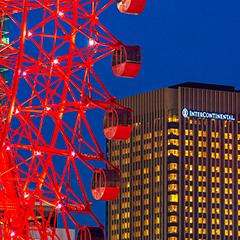 インターコンチネンタルホテル大阪の外観