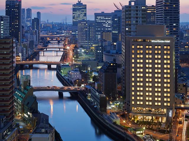 三井ガーデンホテル大阪プレミアの外観