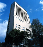 ホテル阪神の外観