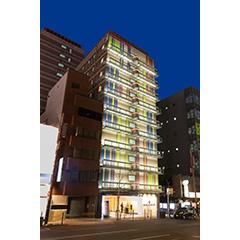 ホテルサンルート大阪なんばの外観