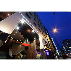大阪富士屋ホテルの外観