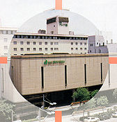 ホテルアウィーナ大阪の外観