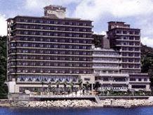 ホテルニューアワジの外観