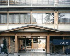 桂小五郎潜居の宿 つたや旅館の外観