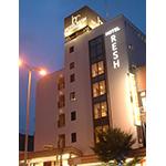 HOTEL RESH 鳥取駅前の外観