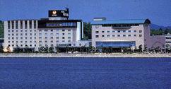 ホテル一畑の外観