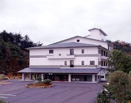 倉敷由加温泉ホテル 山桃花の外観