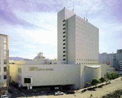 福山ニューキャッスルホテルの外観