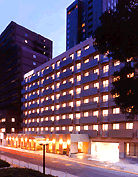ホテル法華クラブ広島の外観