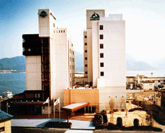 宮島コーラルホテルの外観