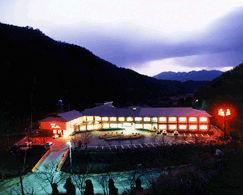 一の俣温泉グランドホテルの外観
