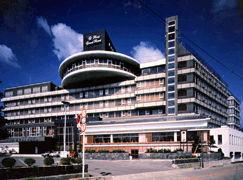 萩グランドホテル天空の外観