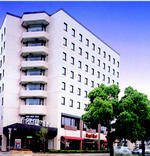 ビジネスホテル パークサイド高松の外観