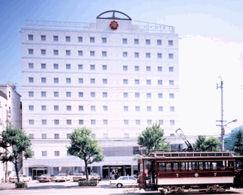 オリエントホテル高知の外観