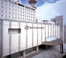 新ロイヤルホテル四万十の外観
