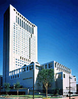 リーガロイヤルホテル小倉の外観