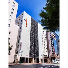 ホテルフォルツァ博多(筑紫口)の外観