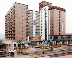 ホテルニュープラザ久留米の外観