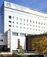 ハイネスホテル久留米の外観