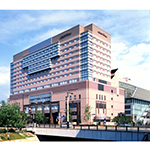ホテルオークラ福岡の外観
