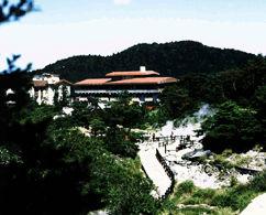 雲仙湯元ホテルの外観