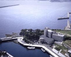 ビューホテル壱岐の外観