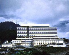 大江戸温泉物語 長崎ホテル清風の外観